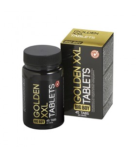 Mocne Tabletki Na Powiększenie Penisa Big Boy Golden XXL