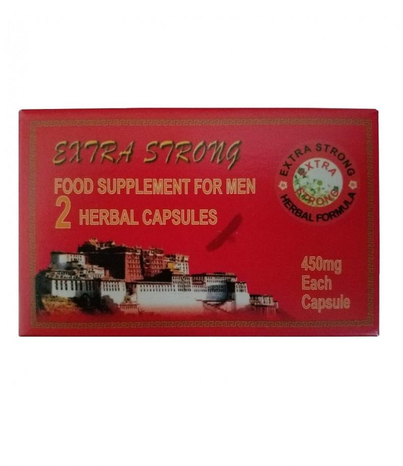 Mocne Tabletki Na Potencję Extra Strong 2 szt