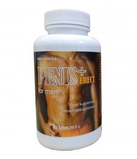 Tabletki Penis + Erect na Silny wzwód