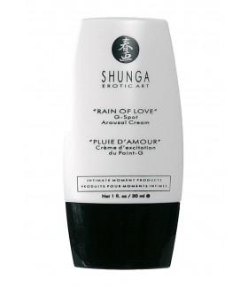 Żel Shunga Pobudzający na punkt G rain of love G Spot