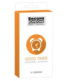 Prezerwatywy Opóźniające Wytrysk Secura Good Timer 12 szt