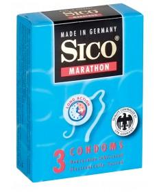 Prezerwatywy Opóźniające Wytrysk Sico Marathon 3 sztuki sexshop kielce