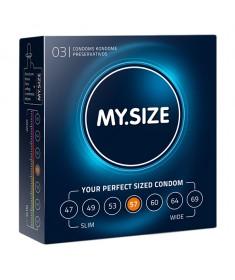 Prezerwatywy My size 57 dla obwodu 11,5 -12 cm