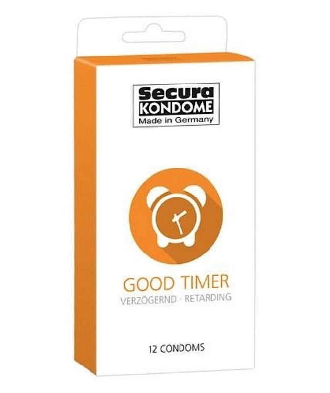 Prezerwatywy Opóźniające Wytrysk Secura Good Timer 3 szt