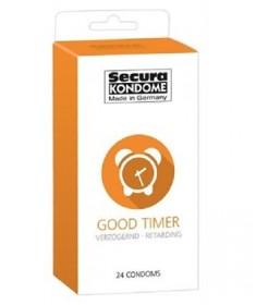 Prezerwatywy Opóźniające Wytrysk Secura Good Timer 24 szt