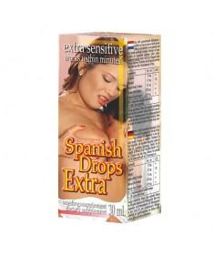 krople pobudzające spanish drops extra lavetra