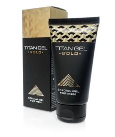 żel powiększający penisa titan gel gold