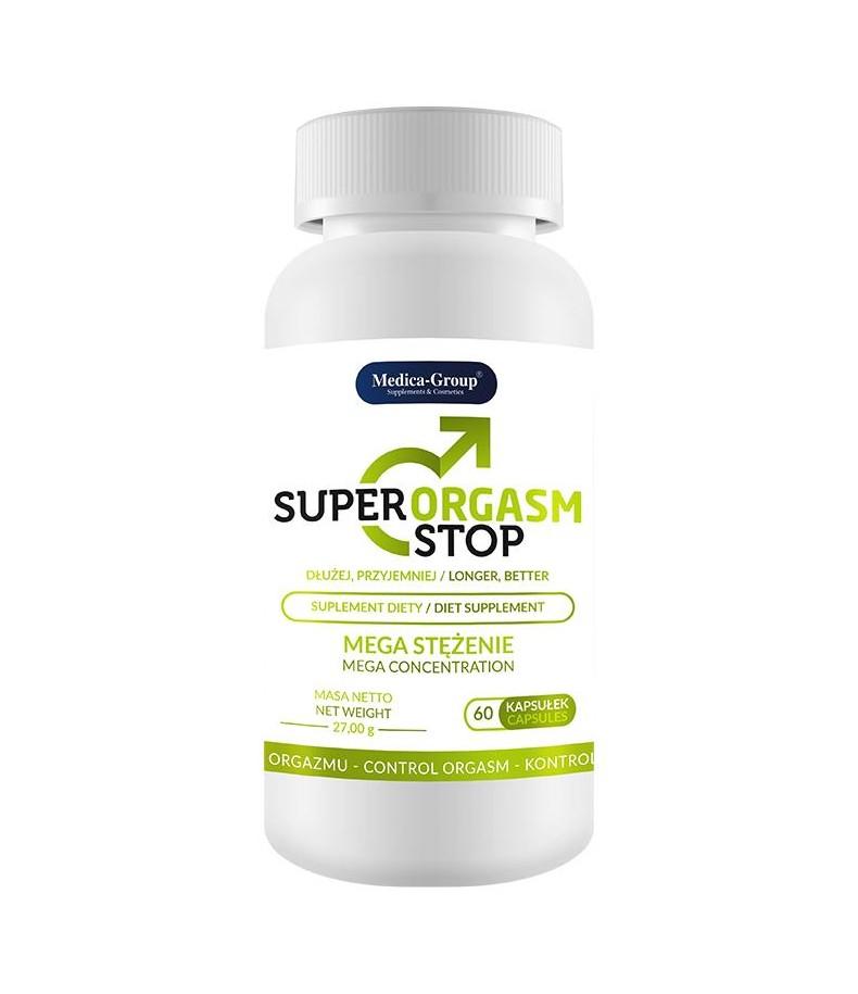 Tabletki na Opóźnienie Orgazmu Super Orgasm Stop